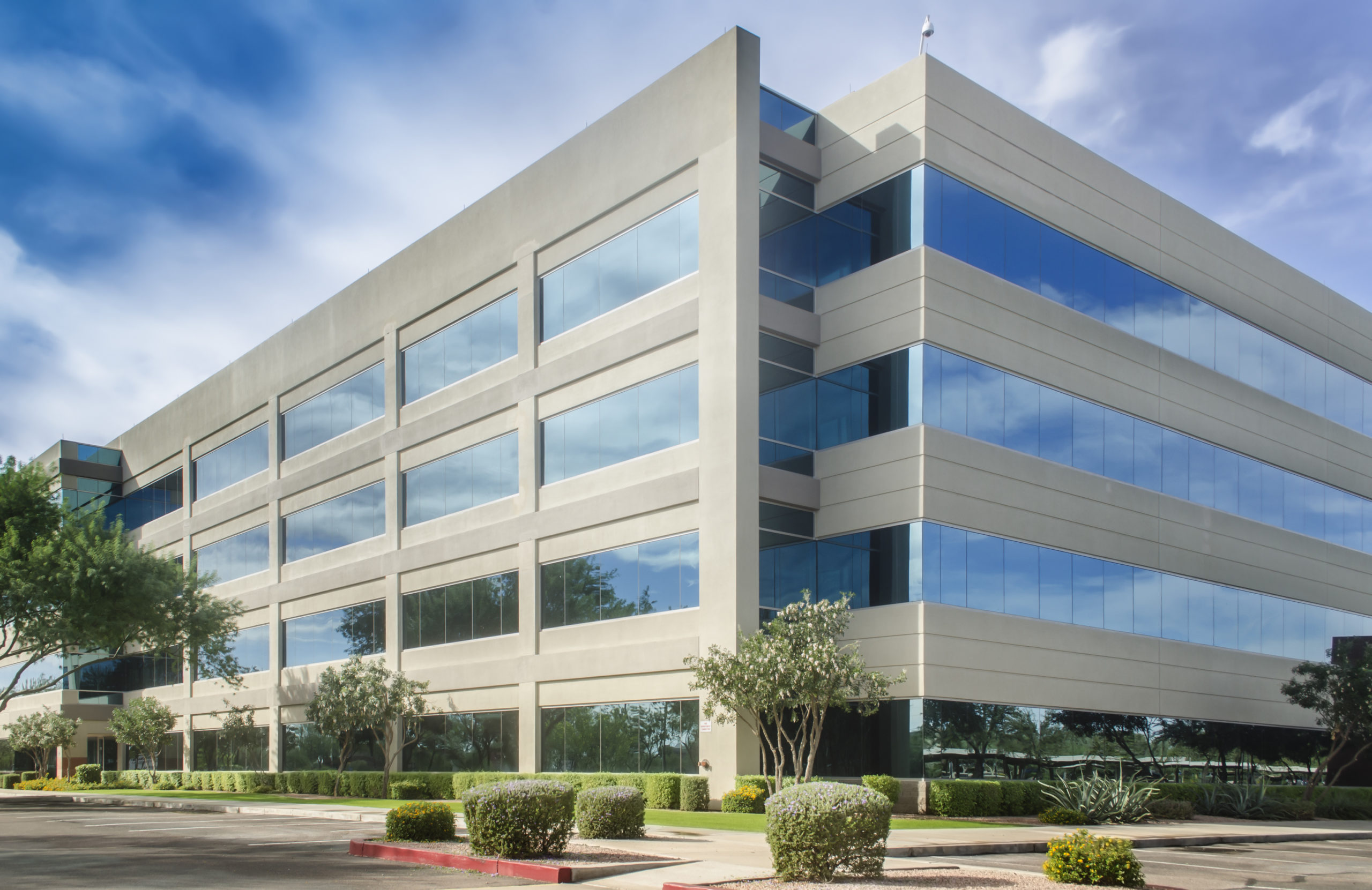 generic modern building – symbol of success